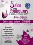SALON DES PRODUCTEURS - VINS ET SAVEURS Saint-Nabord