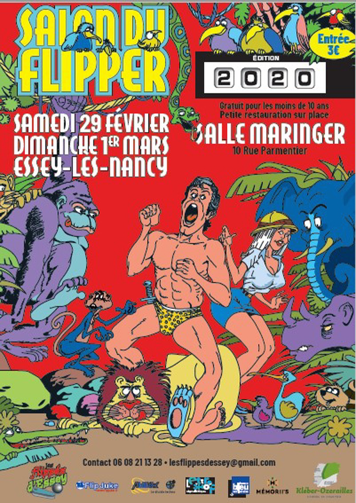 SALON DU FLIPPER Essey-lès-Nancy