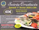 SOIRÉE CRUSTACÉS Réhon   2020-02-01