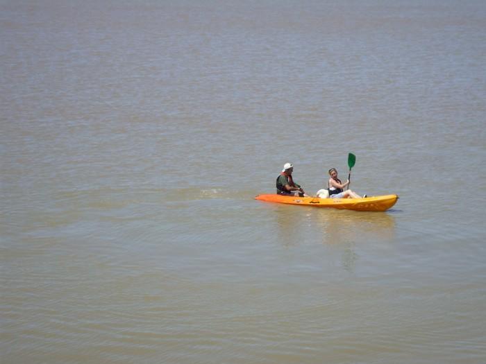 Sortie en kayak de mer sur l'Estuaire Saint-Ciers-sur-Gironde