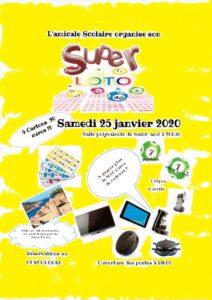 SUPER LOTO À SAINT-AMÉ Saint-Amé   2020-01-25