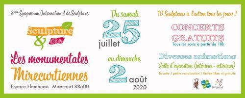 SYMPOSIUM INTERNATIONAL DE SCULPTURE Mirecourt   2021-07-24