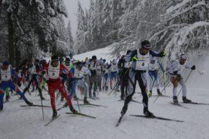 TRACE VOSGIENNE SKI DE FOND Gérardmer   2020-02-02