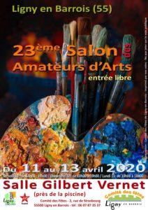 23ÈME SALON DES AMATEURS D'ARTS Ligny-en-Barrois Meuse