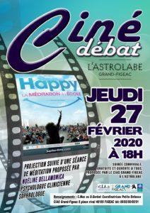 """Ciné-débat """"Happy"""