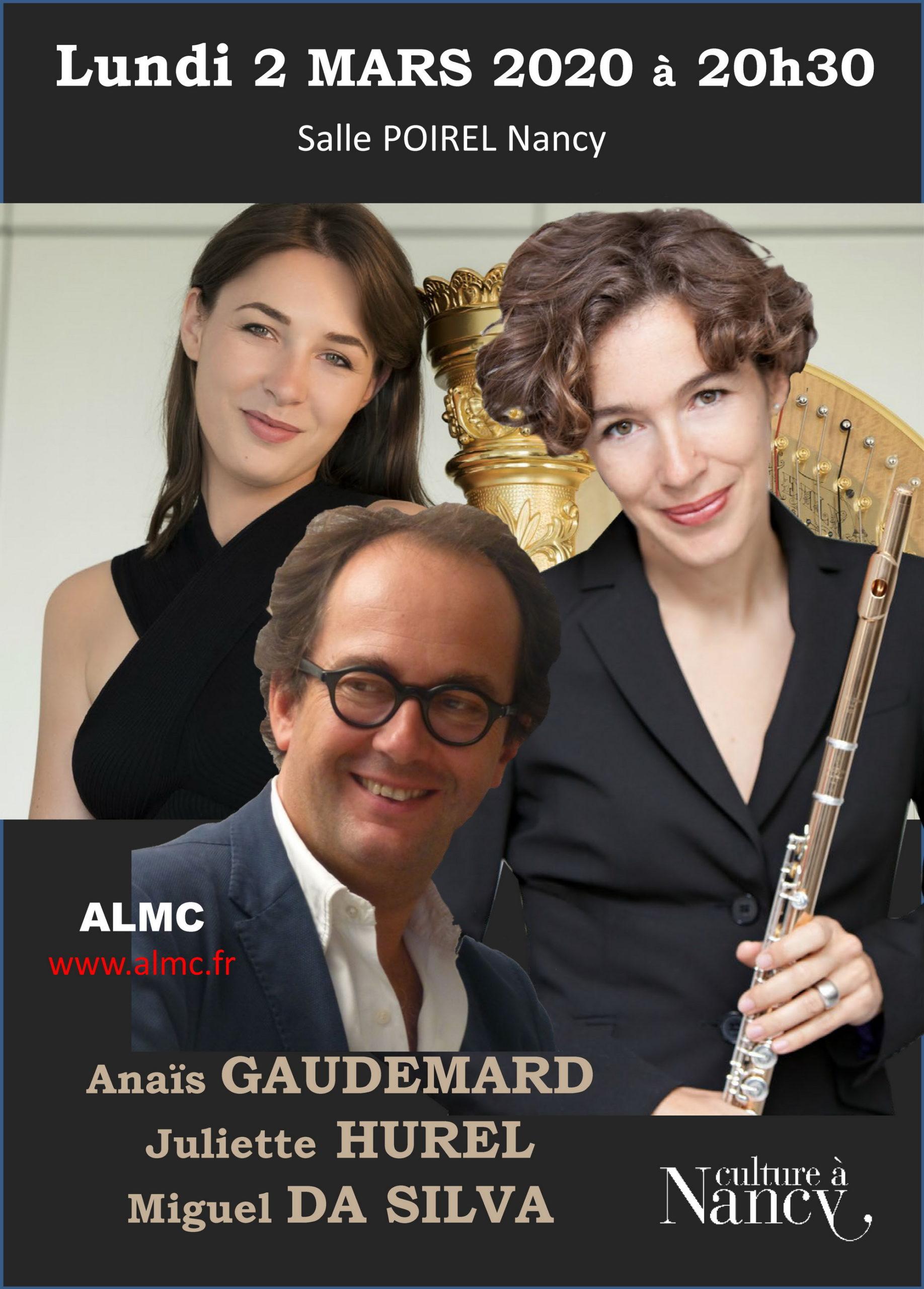 CONCERT TRIO ANAÏS GAUDEMARD