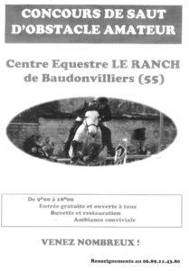 CONCOURS DE SAUT D'OBSTACLE Baudonvilliers