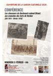 CONFÉRENCE | LES CHASSEURS DU LIEUTENANT-COLONEL DRIANT