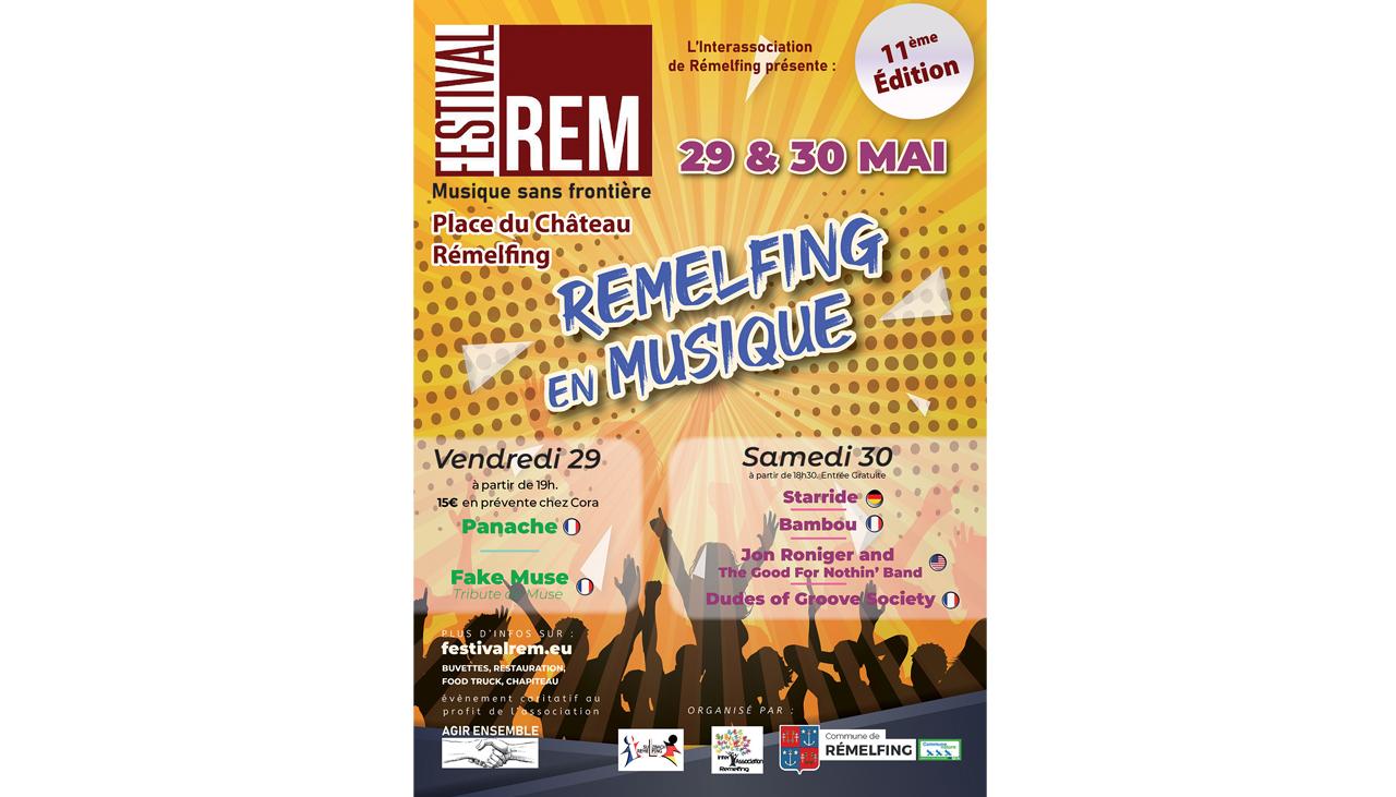 FESTIVAL REM -  REMELFING EN MUSIQUE Rémelfing