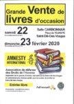 GRANDE VENTE DE LIVRES D'OCCASION Saint-Dié-des-Vosges