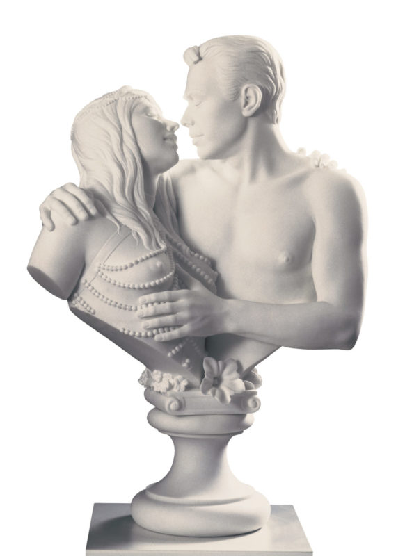 Jeff Koons, Bourgeois Bust - Jeff and Ilona, 1991 © Jeff Koons / Photo : Jim Strong, New York Pinault Collection
