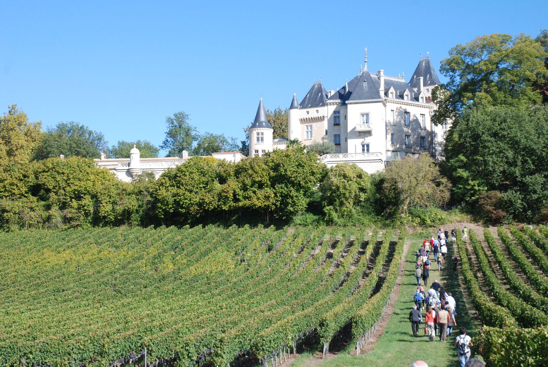 La Ronde des Vignobles en Fronsadais Saint-Germain-de-la-Rivière   2021-06-12
