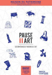 Pause Art - Les conférences d'histoire de l'art Saint-Julien-les-Villas