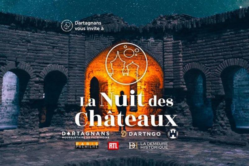 Nuit des Châteaux : visite du château de Sagonne Sagonne