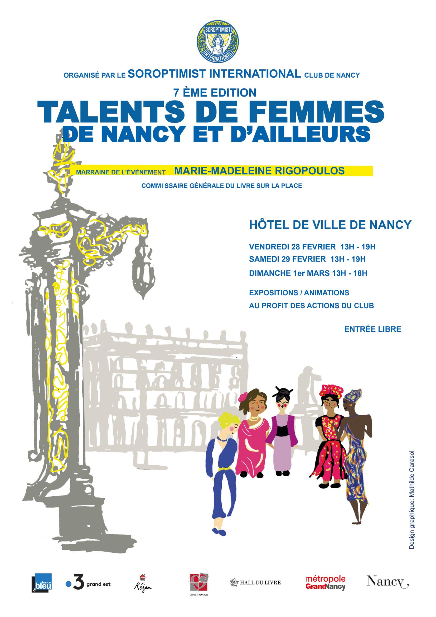SALON TALENTS DE FEMMES DE NANCY ET D'AILLEURS Nancy