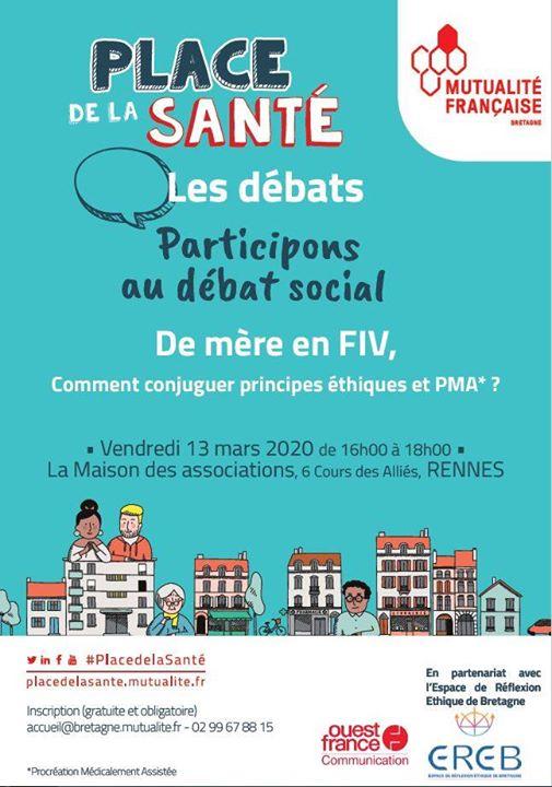 De Mere En Fiv Comment Conjuguer Principes Ethiques Et Pma Maison Des Associations Vendredi 13 Mars 2020