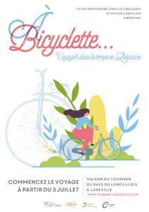 À BICYCLETTE...VOYAGER DANS LE TEMPS EN LORRAINE Lunéville Meurthe-et-Moselle