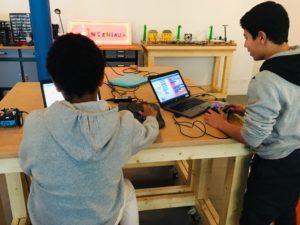 Aide ton robot à s'échapper… du Labyrinthe! Les Ingéniaux Makerspace Paris