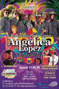 Angelica Lopez La Marbrerie