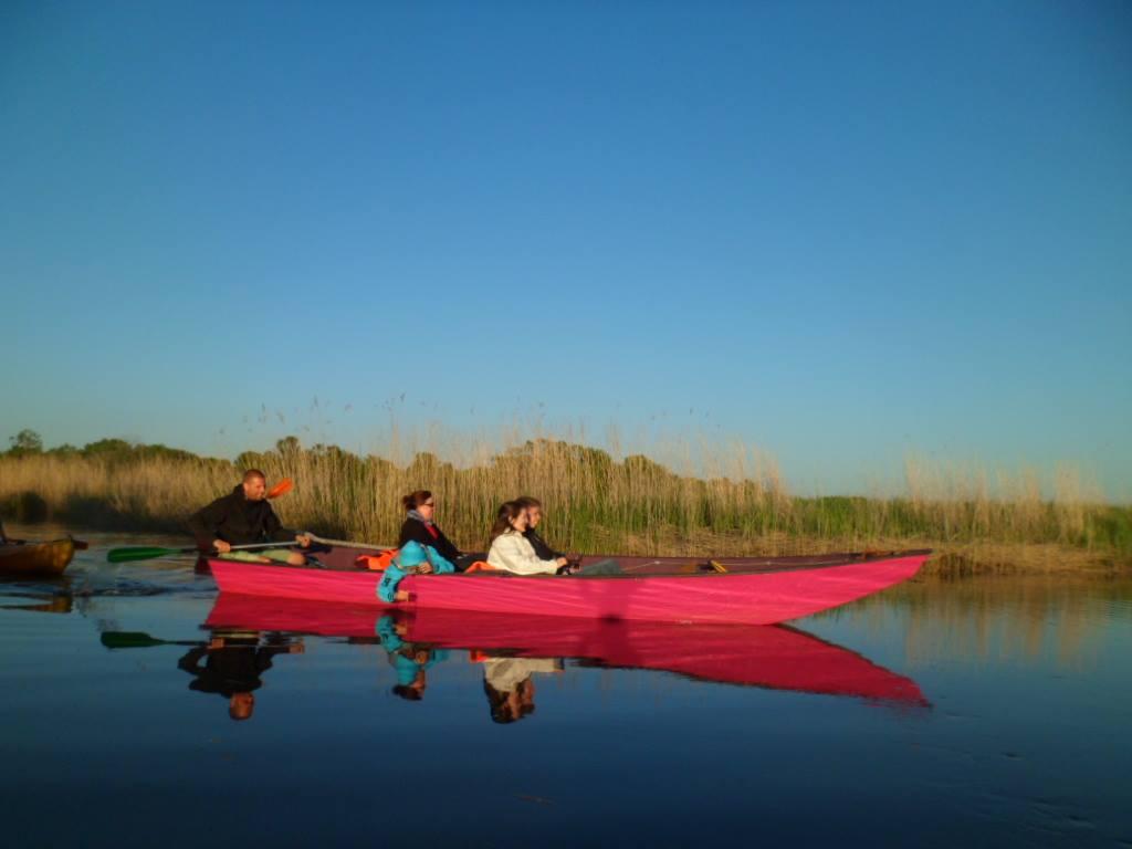 Balade en barque tradionnelle sur le Leyre au coucher de soleil Andernos-les-Bains