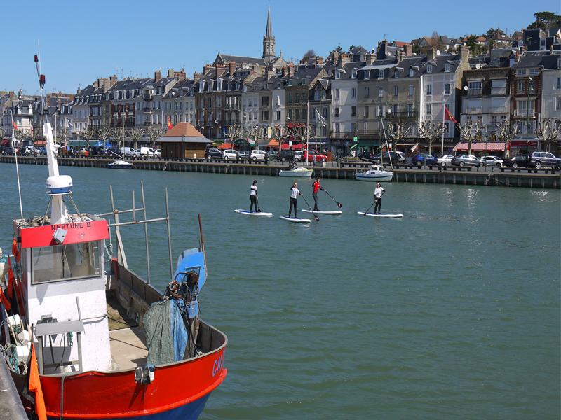Balade en stand up paddle sur Trouville Trouville-sur-Mer