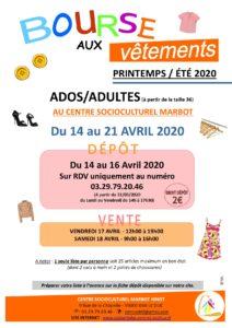 BOURSE AUX VÊTEMENTS ADOS ADULTES Bar-le-Duc