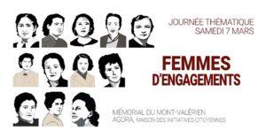 Femmes d'engagements | Journée thématique Mémorial du Mont-Valérien