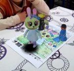 Festival Numok : coloriages en 3D Bibliothèque Vaugirard