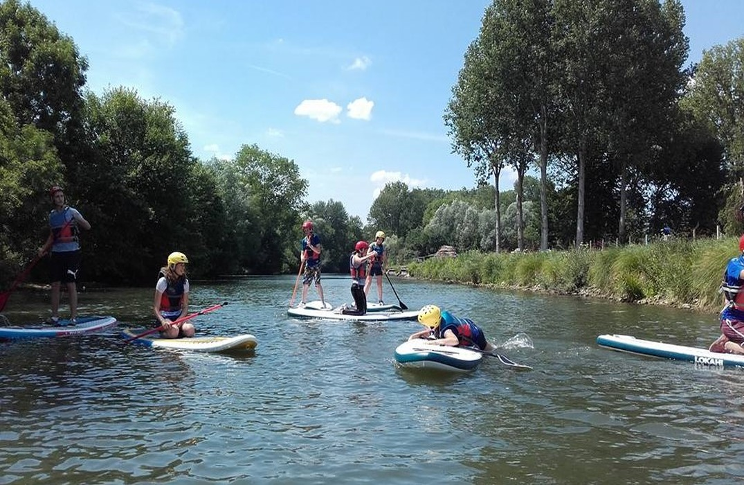 Initiation au paddle Ailly-sur-Somme   2021-07-03
