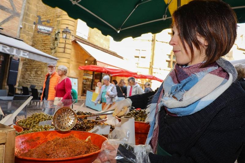 Marché alimentaire Sarlat-la-Canéda
