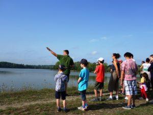 Promenade à la découverte du lac de la Prade Bazas