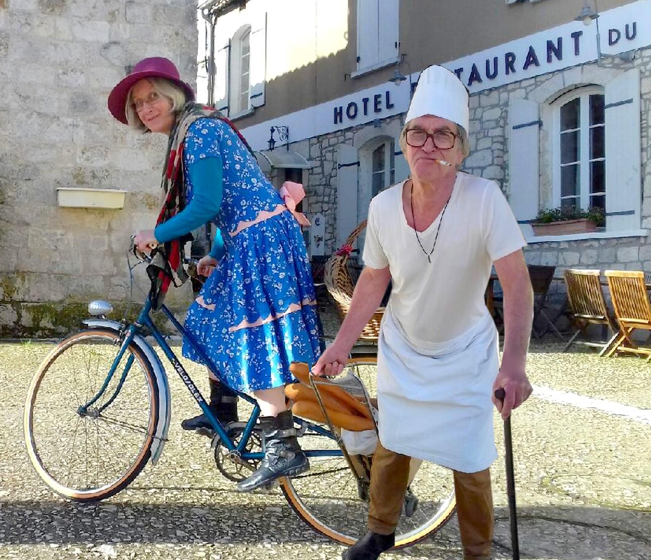 Scènes de rue et Escape Game rural à Tournon d'Agenais Tournon-d'Agenais