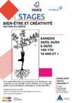STAGE BIEN ETRE ET CREATIVITE autour du conte Centre Paris Anim' Interclub 17
