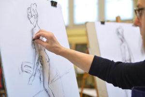 stage de dessin : l'anatomie humaine. Musée du Louvre