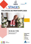 STAGES VACANCES DE PRINTEMPS Centre Paris Anim' Interclub 17