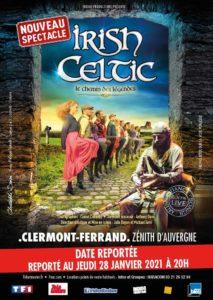 Irish Celtic - Le Chemin des Légendes Zenith Cournon d'Auvergne Cournon-d'Auvergne