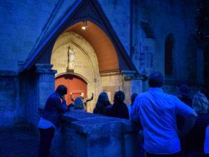 Balade musicale : l'homme en noir Caen