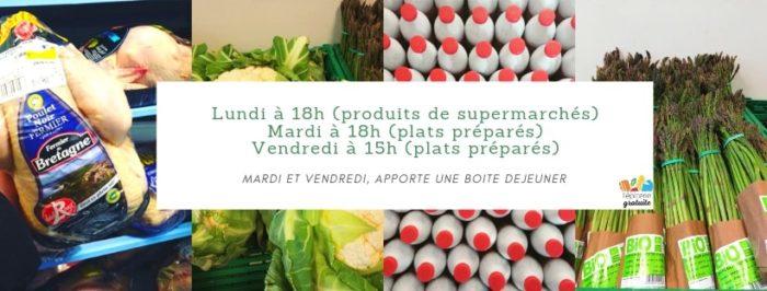 épicerie gratuite Rennes