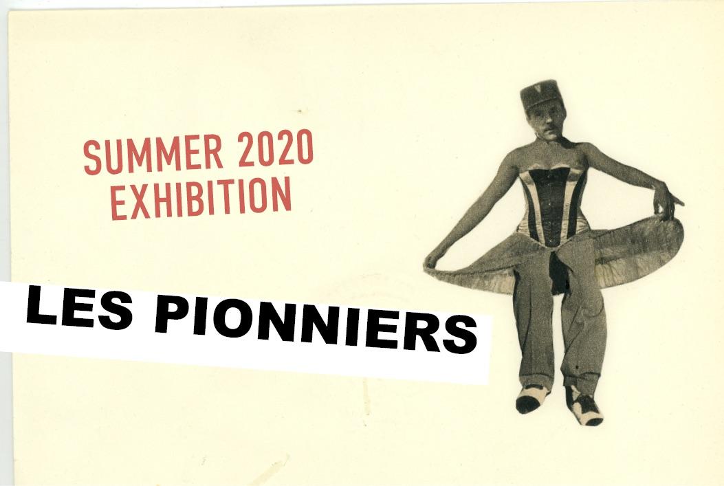 ARLES EXPOSE DES PIONNIERS DU 3 JUILLET AU 5 SEPTEMBRE 2020