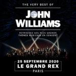 La musique de John Williams au Grand Rex le 25/09/2020 Cinéma Le Grand Rex