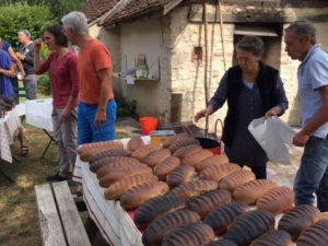 Cuisson au four à bois Néons-sur-Creuse