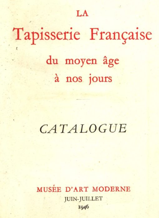 TAPISSERIE FRANCAISE FRANCIS SALET