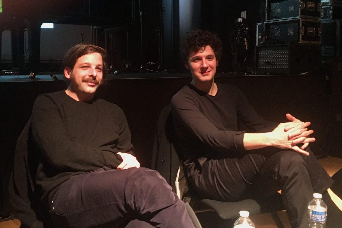 Antoine de Bary et Vincent Lacoste