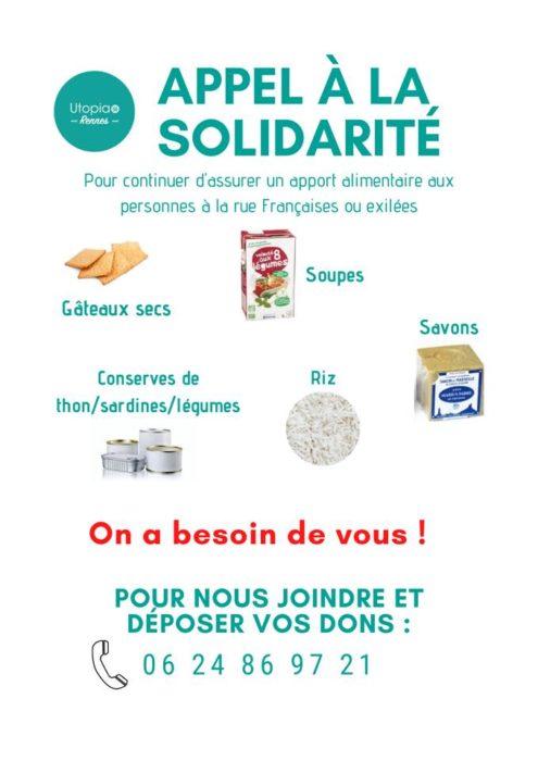 utopia 56 solidarité