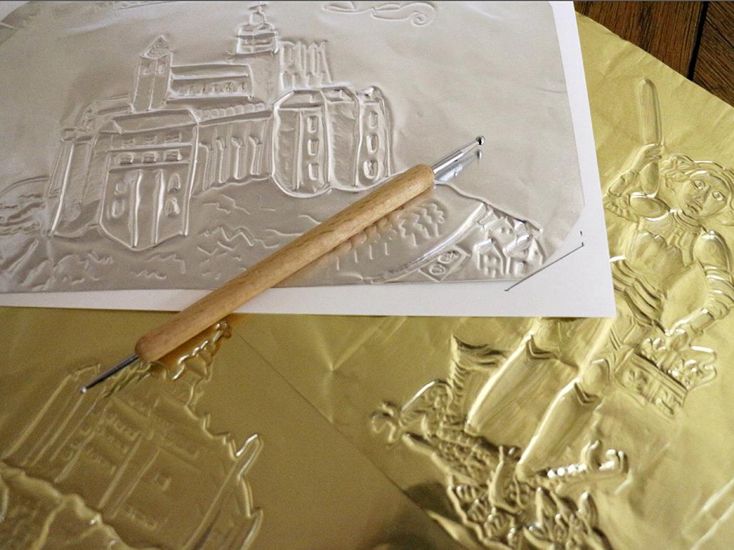"""Atelier """"Carte en métal"""" Musée des plans reliefs"""