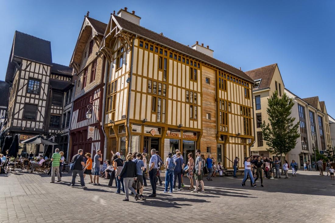 Balade disco Troyes