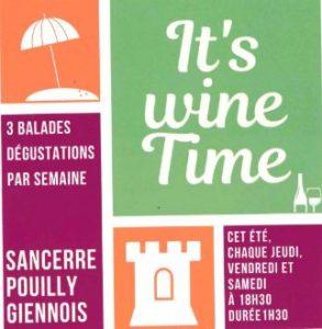 It's Wine Time : dégustations de vins Sancerre