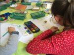 L'atelier du petit artiste au château Hautefort