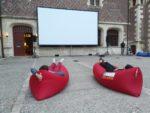 Le château fait son cinéma : cinéma en plein-air dans la cour du château Gien