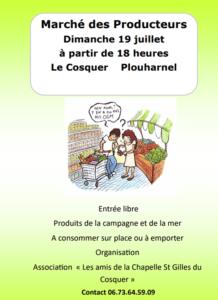 Marché des Producteurs de Plouharnel Plouharnel Morbihan
